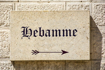 Schild 88 - Hebamme