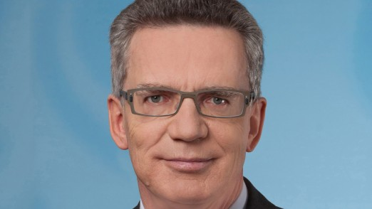 Thomas de Maizi re, Bundesinnenminister