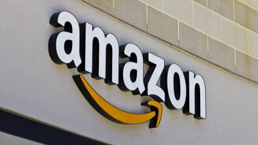 Amazon Logo 16:9 nur redaktionelle Nutzung