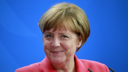 nur fuer redaktionelle Nutzung, Bundeskanzlerin Angela Merkel, 16:9, slider