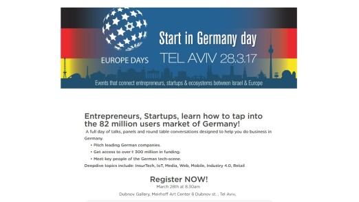 Start in Germany day in Tel Aviv, 16:9, slider