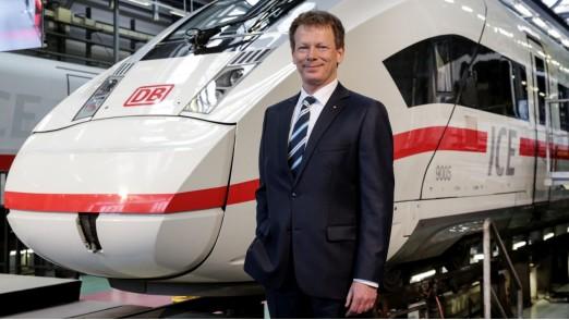 Richard Lutz, Vorstandsvorsitzender der Deutschen Bahn AG, 16:9, slider