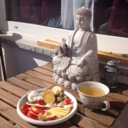 Frühstücks Buddha