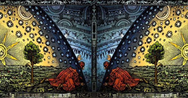 C._Flammarion_-_Universum_-_Paris_1888_-_Colored_Panorama_Version-19-10