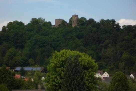 alter Ortskern mit Krukenburg