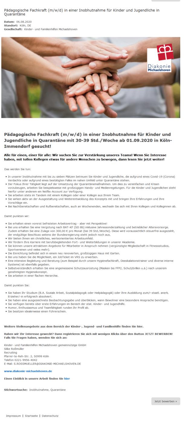 Screenshot_2020-08-09 Pädagogische Fachkraft (m w d) in einer Inobhutnahme für Kinder und J…